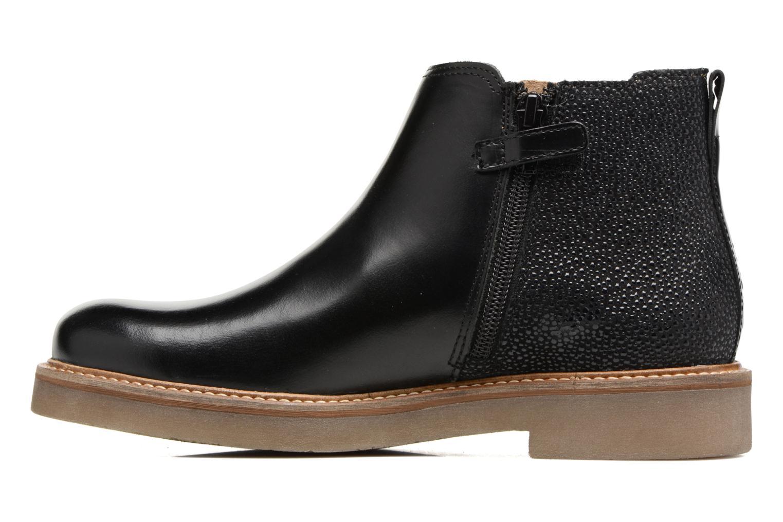 Bottines et boots Kickers Oxalide Noir vue face