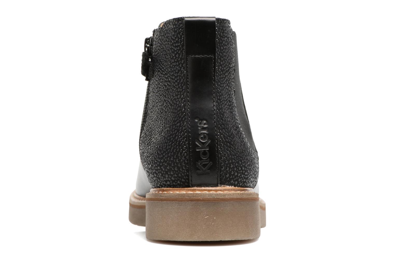 Bottines et boots Kickers Oxalide Noir vue droite