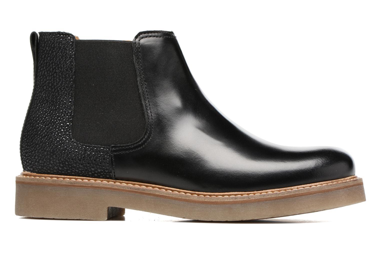 Bottines et boots Kickers Oxalide Noir vue derrière