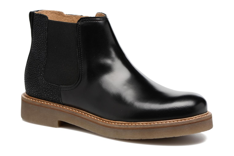 Bottines et boots Kickers Oxalide Noir vue détail/paire
