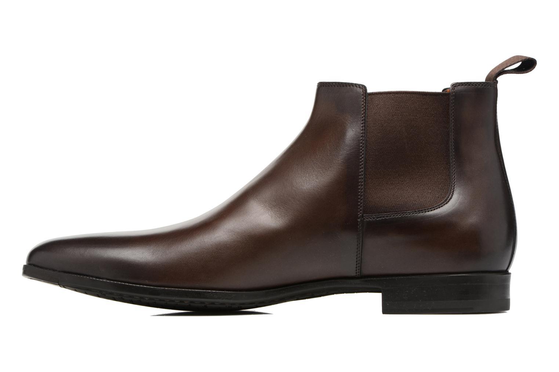 Bottines et boots Santoni William 15312 Marron vue face