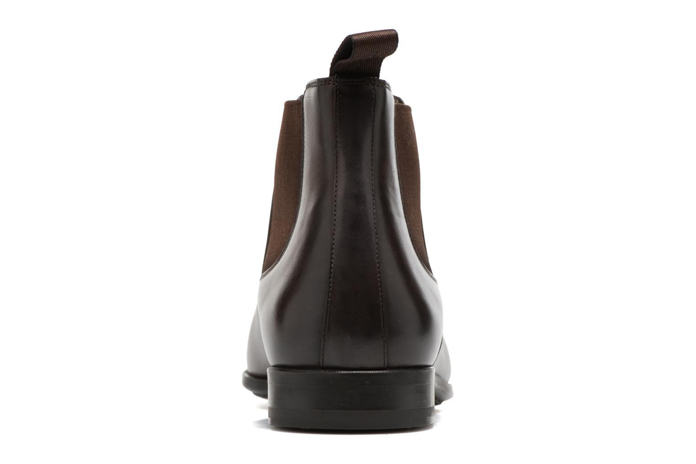 Bottines et boots Santoni William 15312 Marron vue droite