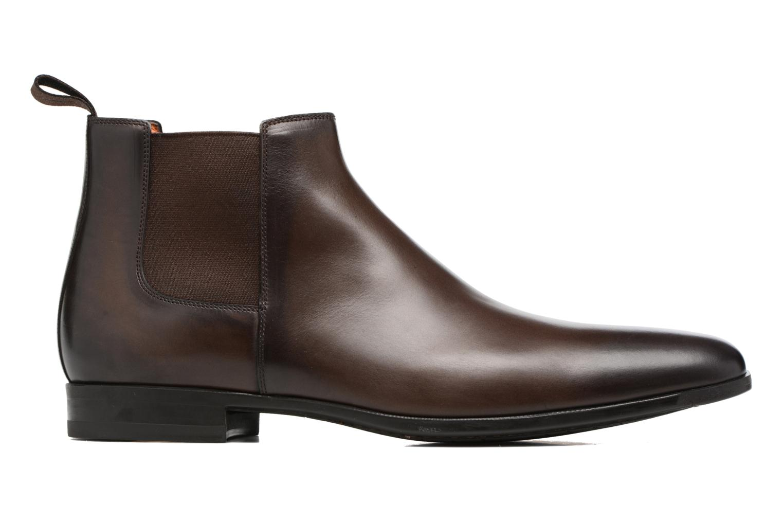 Bottines et boots Santoni William 15312 Marron vue derrière