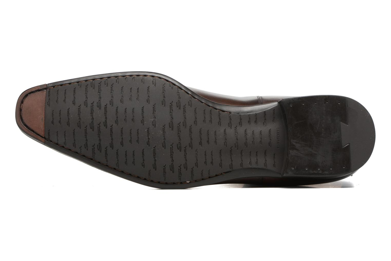Bottines et boots Santoni William 15312 Marron vue haut