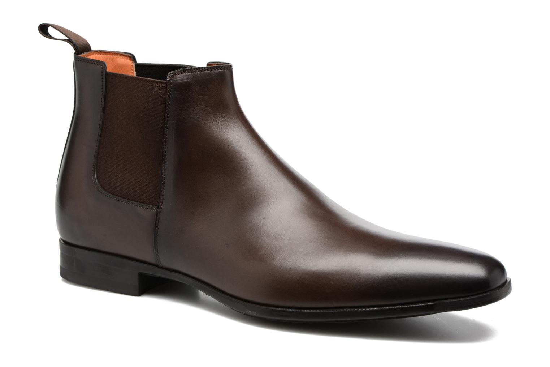 Bottines et boots Santoni William 15312 Marron vue détail/paire