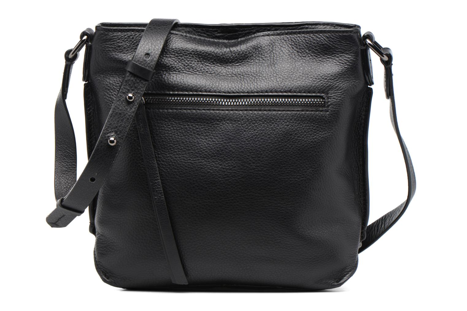 TOPSHAM JEWEL Cuir Crossbody Black