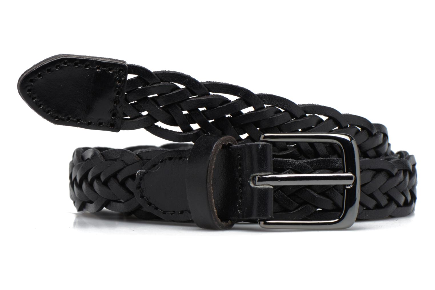 Jussy Leather Jeans belt 25mm Black