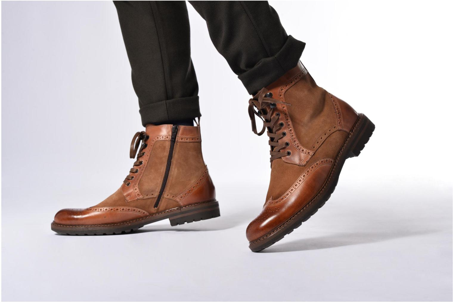 Ankle boots Mr SARENZA Nanti Brown view from underneath / model view