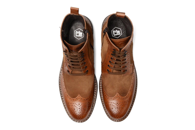 Boots en enkellaarsjes Mr SARENZA Nanti Bruin model