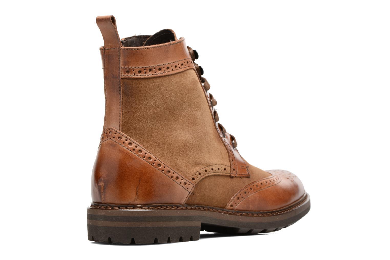 Boots en enkellaarsjes Mr SARENZA Nanti Bruin voorkant