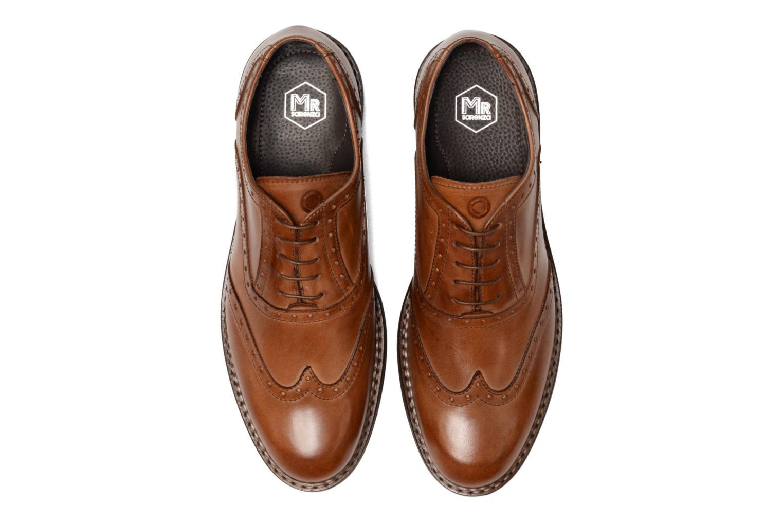 Chaussures à lacets Mr SARENZA Nelaton Marron vue portées chaussures