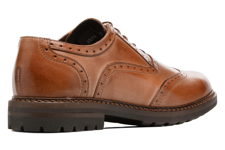 Chaussures à lacets Mr SARENZA Nelaton Marron vue face