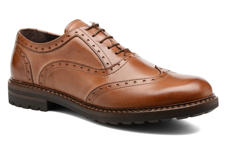 Chaussures à lacets Mr SARENZA Nelaton Marron vue droite
