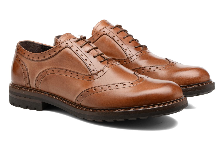 Chaussures à lacets Mr SARENZA Nelaton Marron vue derrière