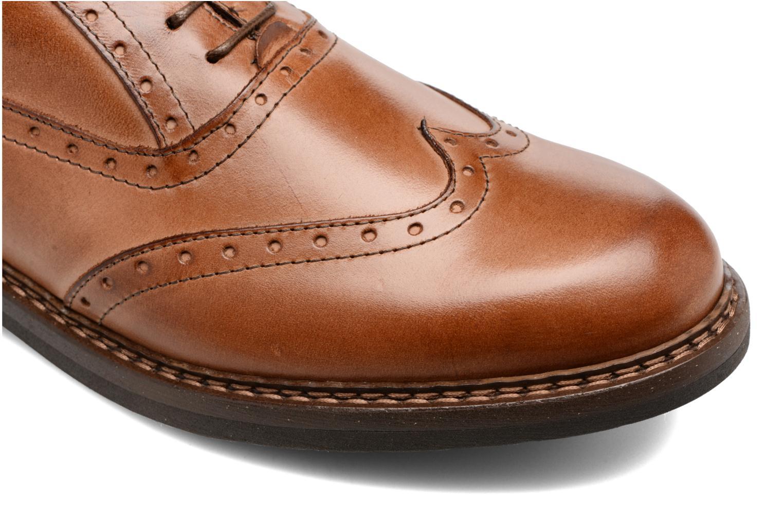 Chaussures à lacets Mr SARENZA Nelaton Marron vue gauche