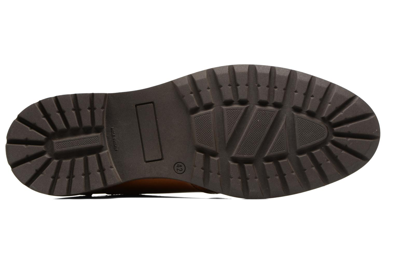 Chaussures à lacets Mr SARENZA Nelaton Marron vue haut