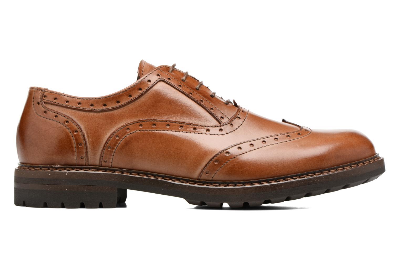 Chaussures à lacets Mr SARENZA Nelaton Marron vue détail/paire