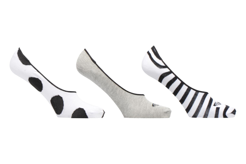 Chaussettes et collants Roxy NO SHOW SOCKS J SOCK KVJ0 Blanc vue détail/paire