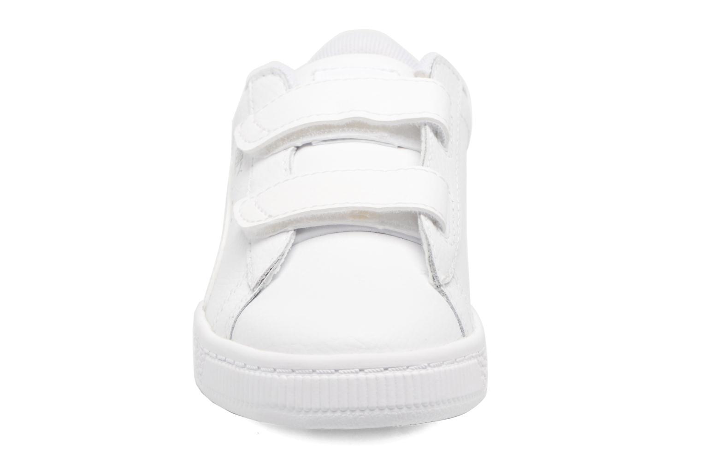 Baskets Puma Inf Basket Classic LFS/Ps Basket Classic LFS Blanc vue portées chaussures