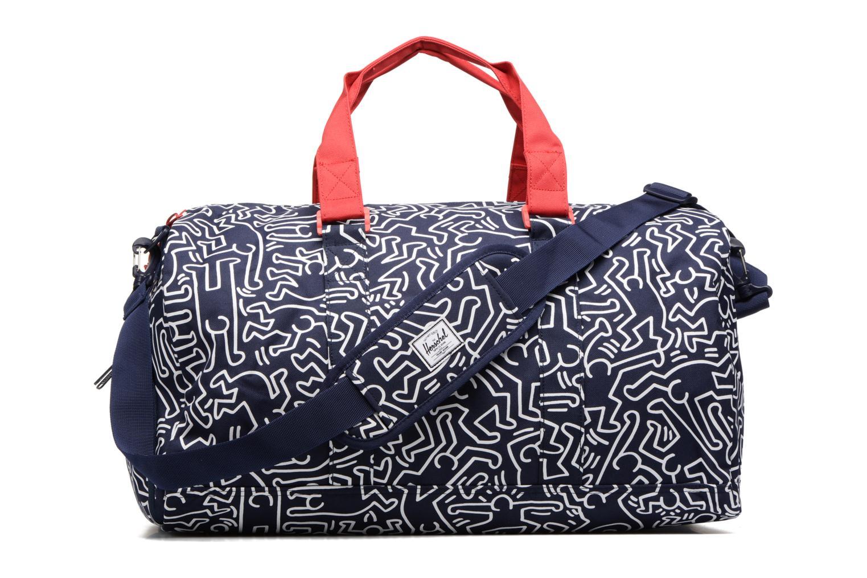Sporttassen Herschel Novel Keith Haring Blauw voorkant