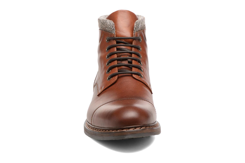 Bottines et boots Heyraud FELIX Marron vue portées chaussures