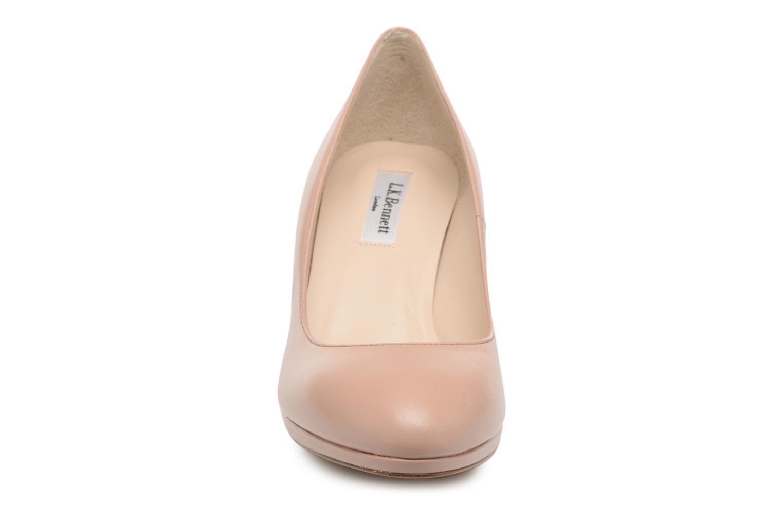 High heels L.K. Bennett New Sybila Beige model view
