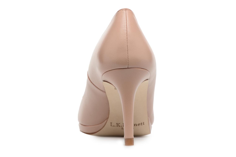 High heels L.K. Bennett New Sybila Beige view from the right