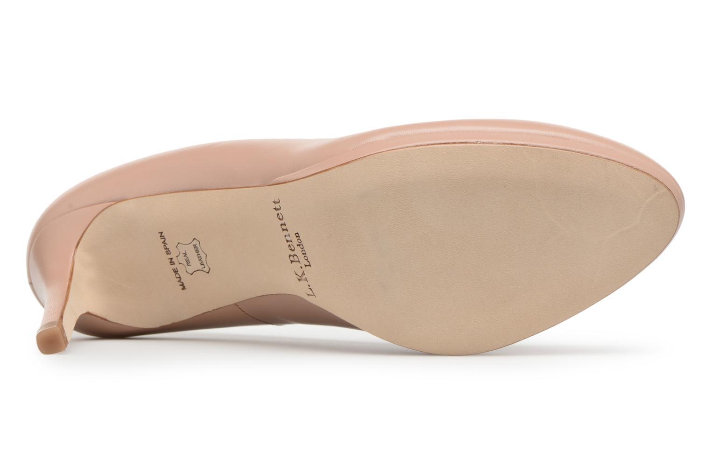 High heels L.K. Bennett New Sybila Beige view from above