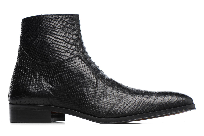 Boots en enkellaarsjes Brett & Sons Adrien Zwart achterkant