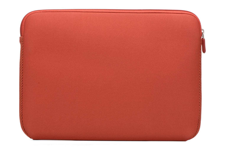 "Petite Maroquinerie Case Logic EVA-foam 13""  Notebook Sleeve, slim-line, Brick Rouge vue face"