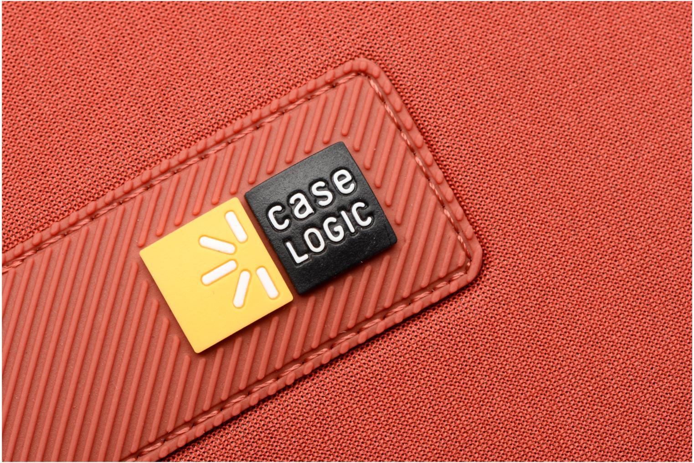 "Petite Maroquinerie Case Logic EVA-foam 13""  Notebook Sleeve, slim-line, Brick Rouge vue gauche"