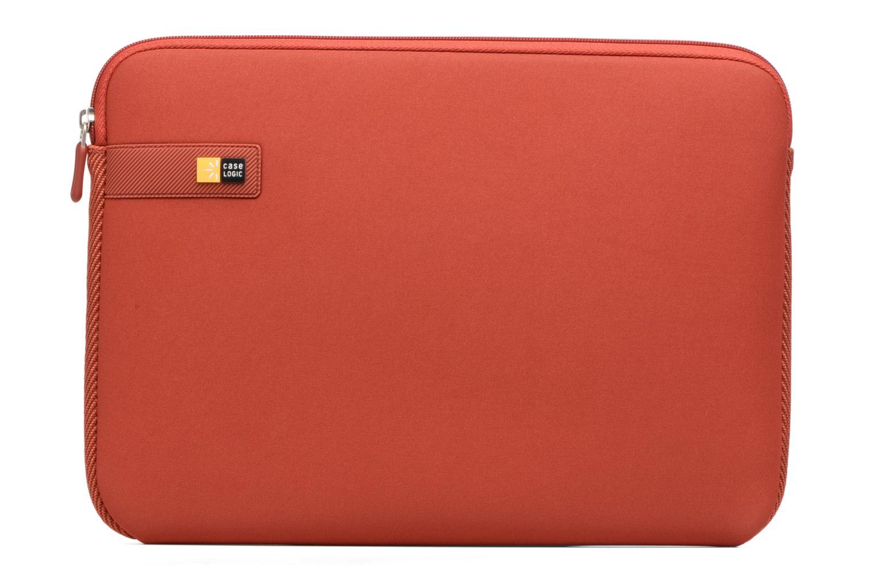 """Petite Maroquinerie Case Logic EVA-foam 13""""  Notebook Sleeve, slim-line, Brick Rouge vue détail/paire"""