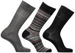Sokken en panty's Accessoires Gift Box chaussettes crew unies et rayures lot de 3