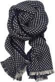 Dot structured scarf 65X200