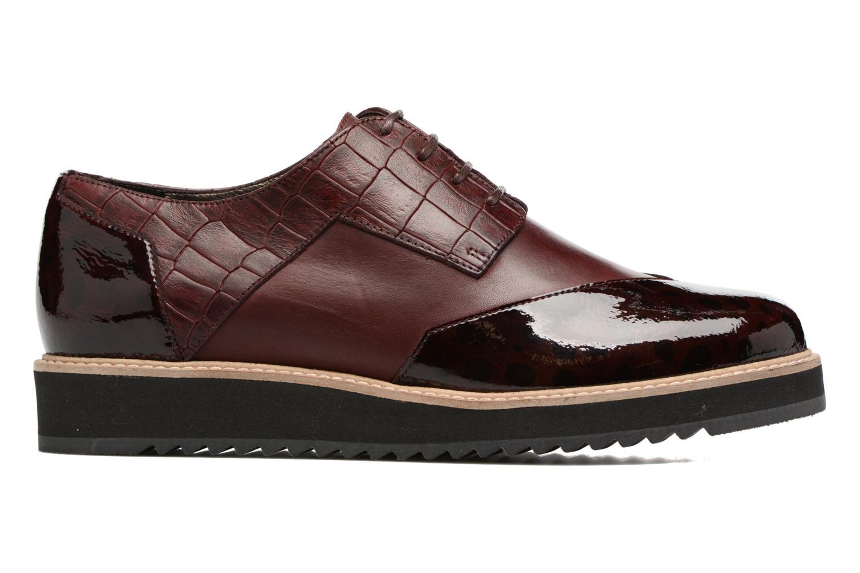 Chaussures à lacets HE Spring Lutin Bordeaux vue derrière