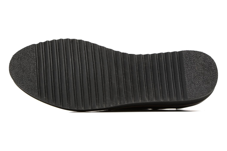 Chaussures à lacets HE Spring Lutin Bordeaux vue haut
