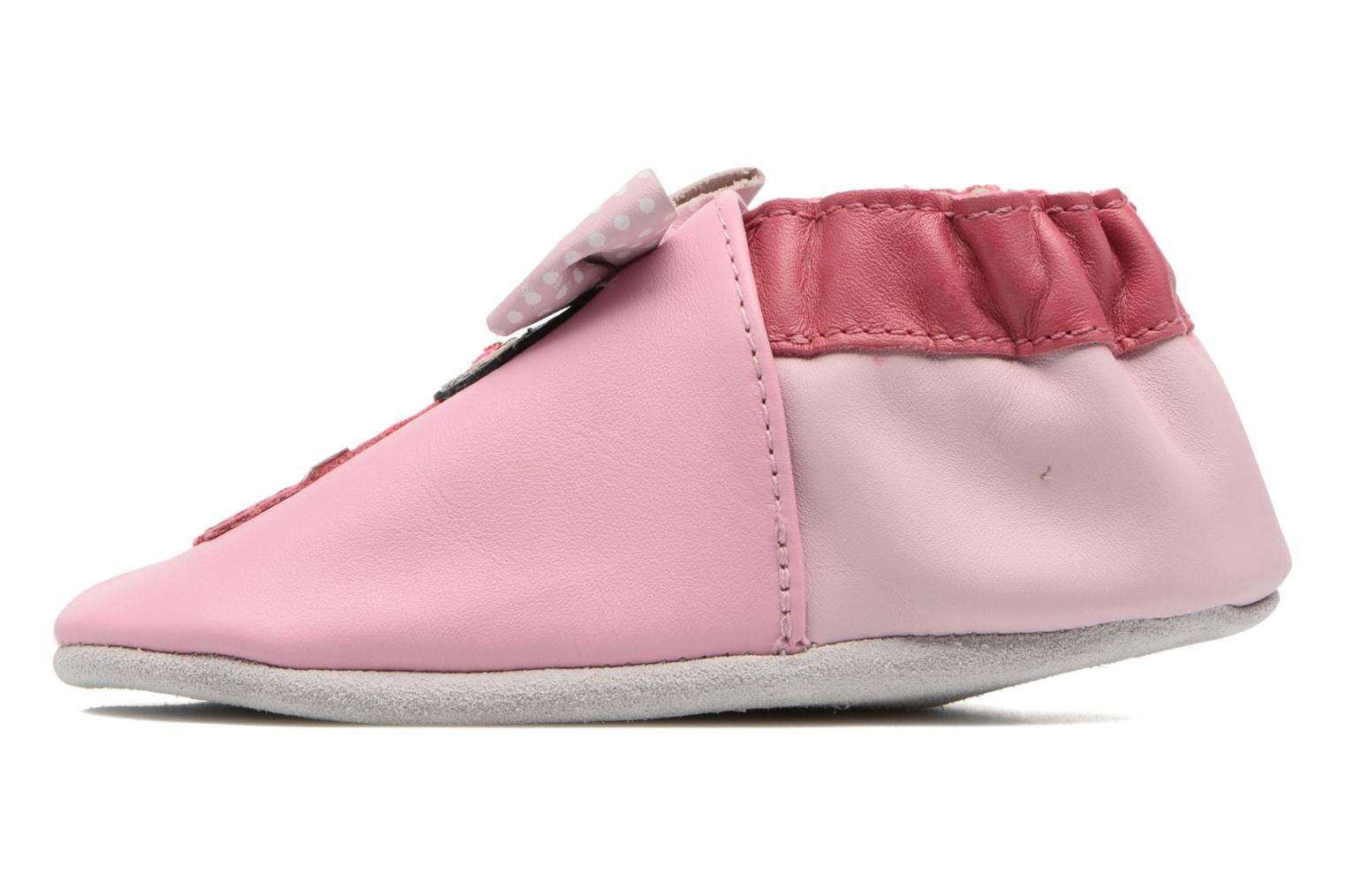 Chaussons Robeez Aoki Rose vue face