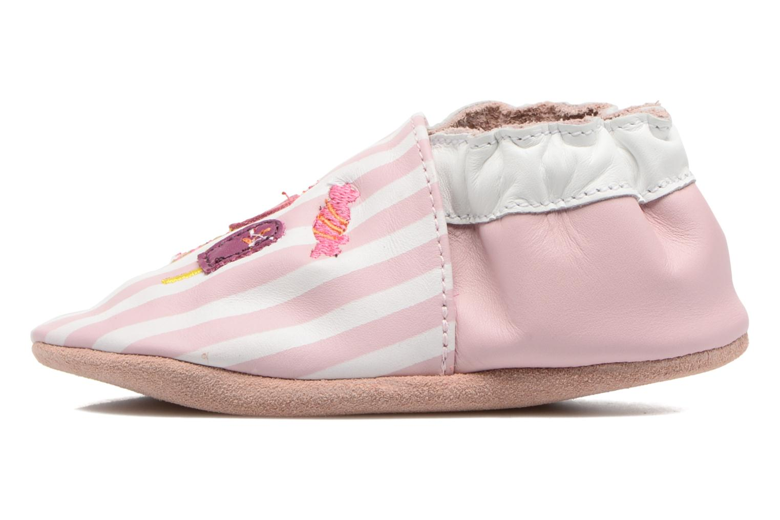 Chaussons Robeez Candy Shop Rose vue face