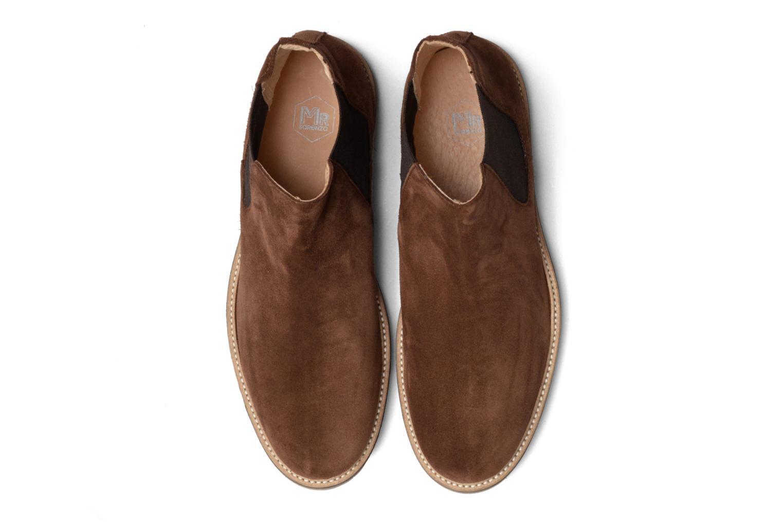 Bottines et boots Mr SARENZA Sperry Marron vue portées chaussures