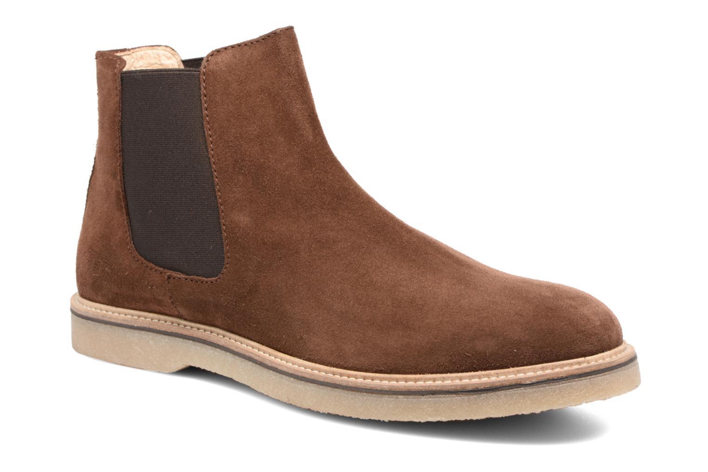 Bottines et boots Mr SARENZA Sperry Marron vue droite