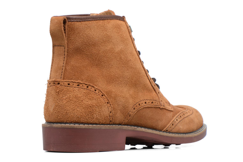 Boots en enkellaarsjes Mr SARENZA Spoling Bruin voorkant