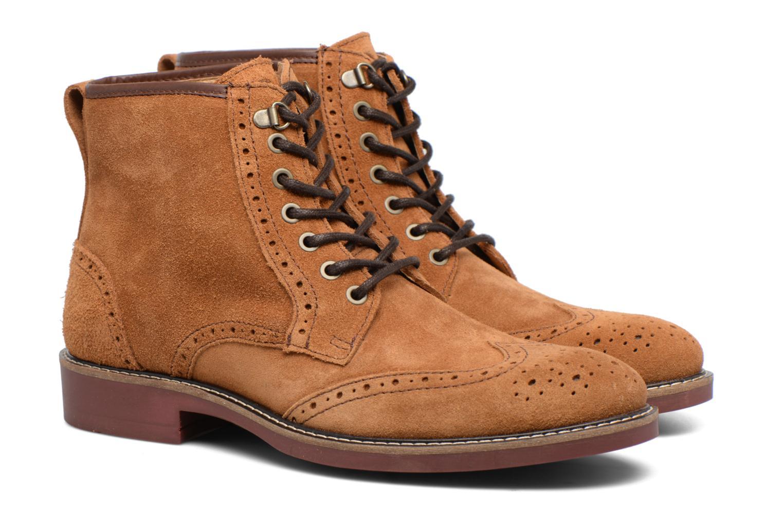 Boots en enkellaarsjes Mr SARENZA Spoling Bruin achterkant