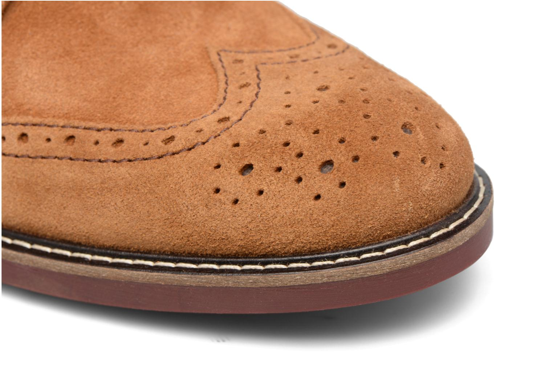 Boots en enkellaarsjes Mr SARENZA Spoling Bruin links