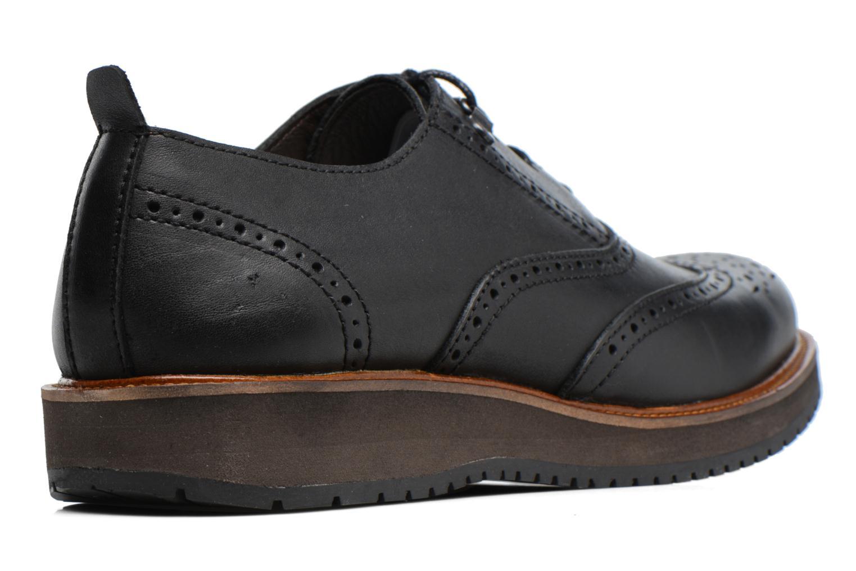 Chaussures à lacets Mr SARENZA Sulivan Noir vue face