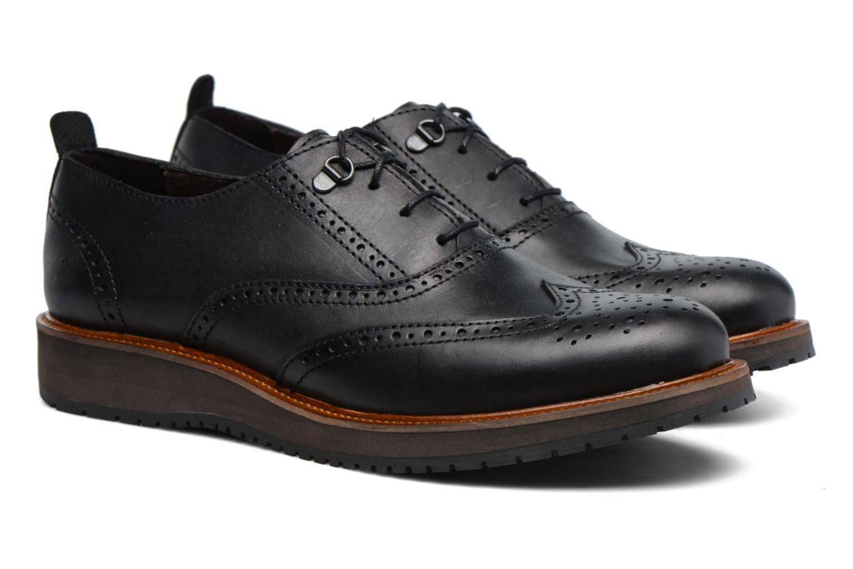 Chaussures à lacets Mr SARENZA Sulivan Noir vue derrière