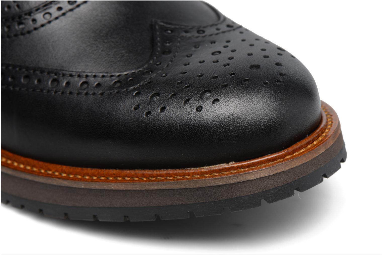 Chaussures à lacets Mr SARENZA Sulivan Noir vue gauche