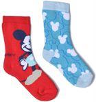 Medias y Calcetines Accesorios Chaussettes Bouclettes Mickey Lot de 2