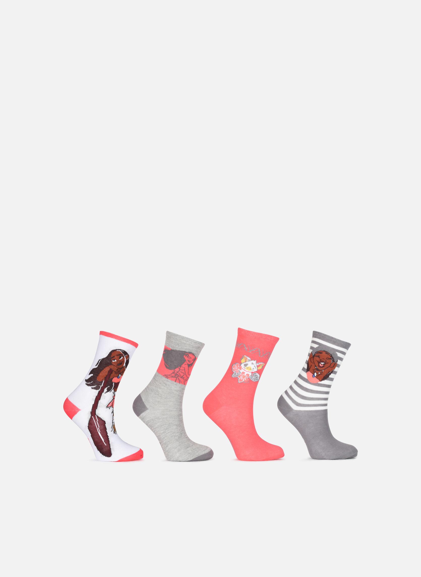 Sokken en panty's Accessoires Chaussettes Lot de 4 Vaiana