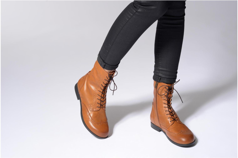 Bottines et boots Birkenstock Laramie Noir vue bas / vue portée sac