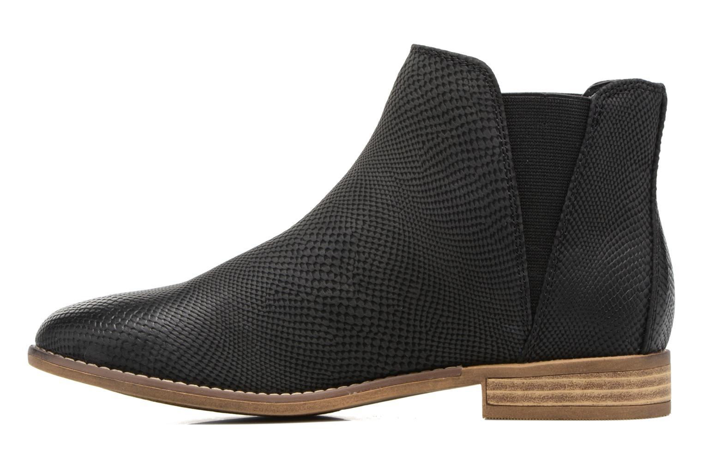 Bottines et boots Roxy Austin II Noir vue face